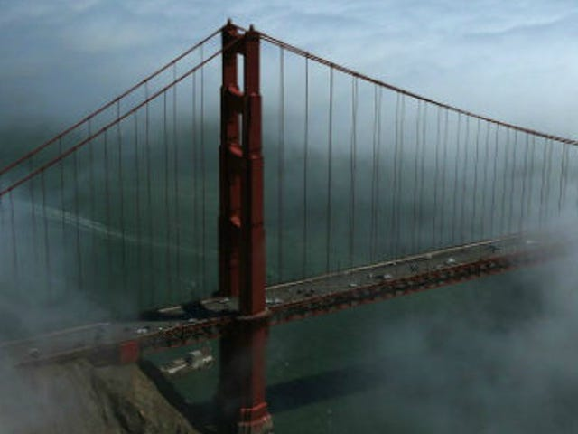 Drones Buzz Golden Gate Bridge, Crashing and Generally Being Creepy