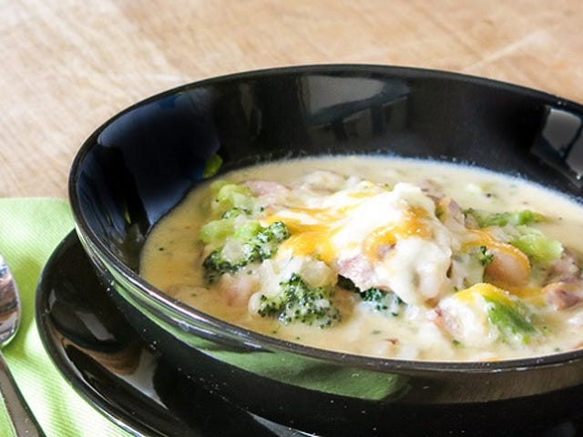 ซุปข้นผสมถั่วขาวเพื่อทางเลือกที่ปราศจากกลูเตน