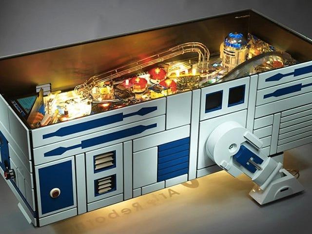 Alt dit hjem virkelig brug for er denne R2-D2 Pinball Machine Coffee Table