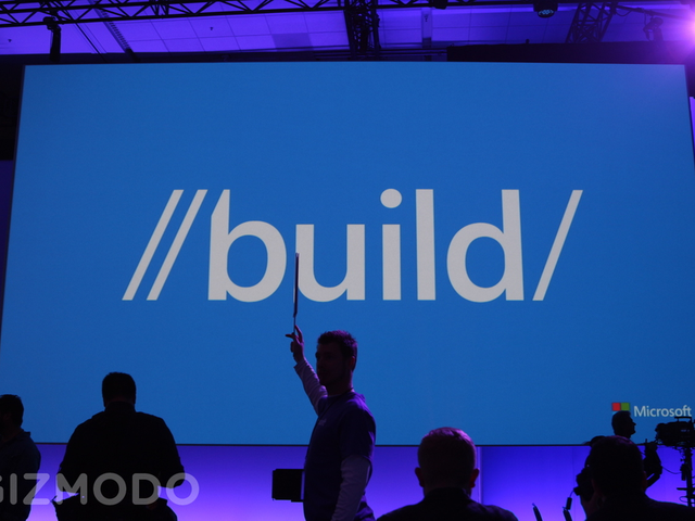 Watch the Microsoft Build Keynote, Right Now