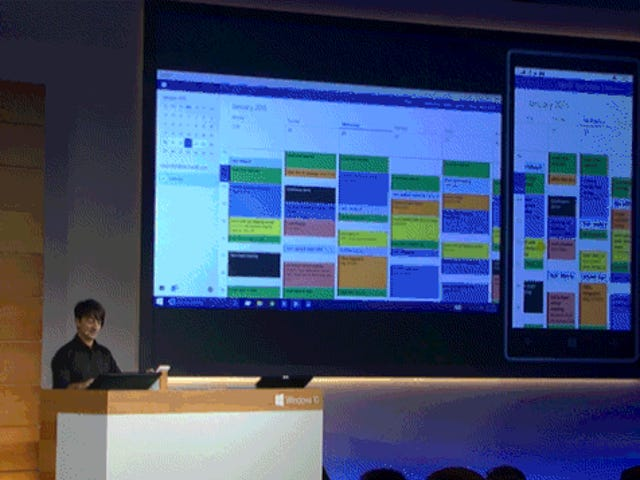 Microsoft просто беззастенчиво продемонстрировала нам единый интерфейс будущего