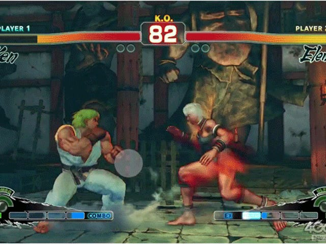 Où regardent les joueurs de <i>Street Fighter</i>