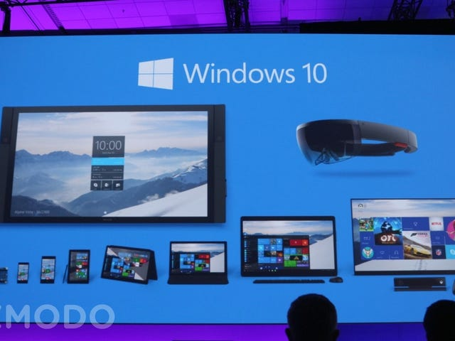 Everything We Learned About Windows 10 at Microsoft Build