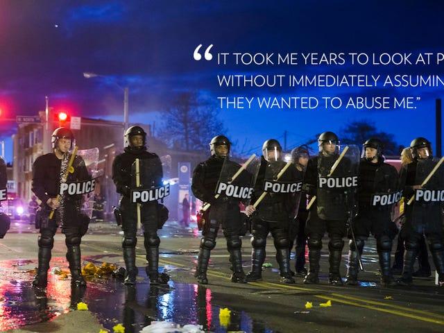 Cuando los policías te brutalizan, es difícil olvidarlos