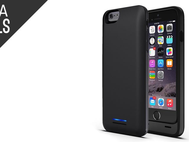 This $30 Battery Case Keeps Your iPhone 6 at 100%