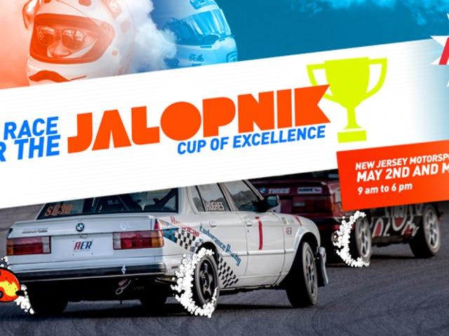 <i>Jalopnik Cup Of Excellence</i> Yarışları için Yarın Bize Katılın