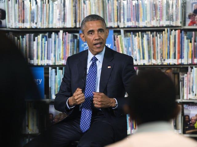 ओबामा ने लाइब्रेरी साइट के लिए शिकागो की पसंद की।  न्यू यॉर्क स्टिल ग्रेट