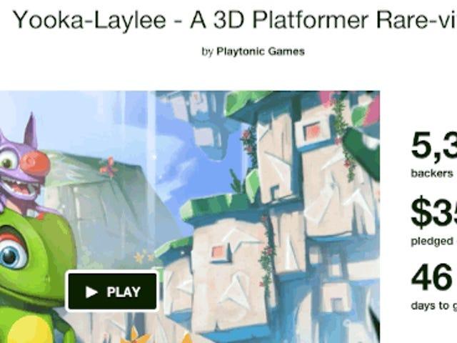 <i>Banjo Kazooie</i> Pengganti Roh Hit Kickstarter, Dibiayai Segera