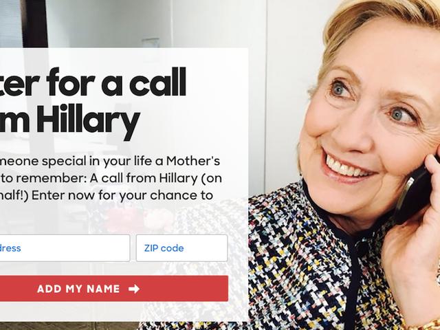 Si Hillary Clinton ay maaaring Tumawag sa Iyong Anti-Hillary Mom para sa Araw ng Ina