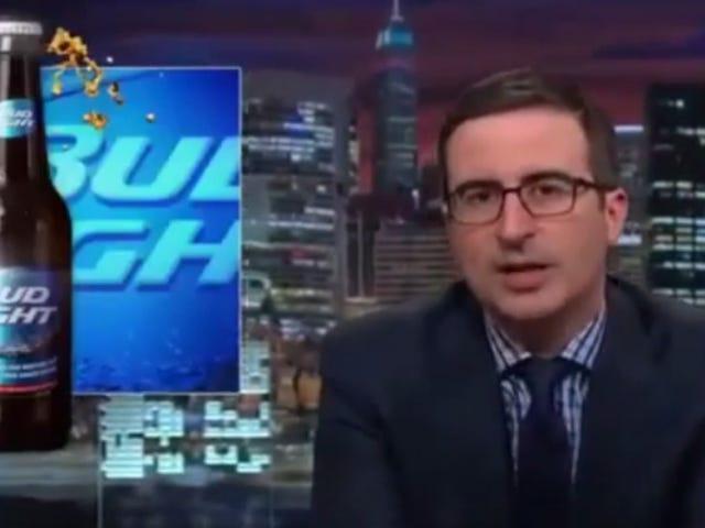 Bud Light ja sen kauhea tagline Hanki John Oliver -hoito