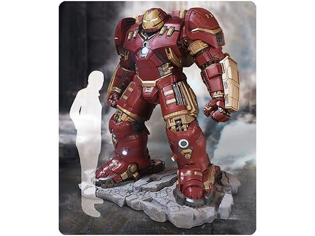 Du kan endelig forordne den Life-Size Hulkbuster Statue-for $ 18,000