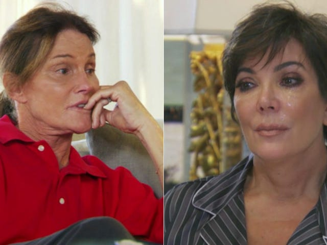 Kris Jenner's Weepy Response to Bruce's Transition Was Totally Staged