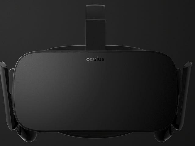 Katakanlah Hello untuk Final Oculus Rift-Coming 2016