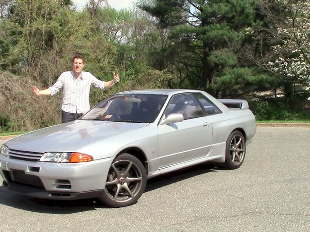 Tässä on, mitä se haluaa ajaa tuodulla Nissan Skyline GT-R: llä