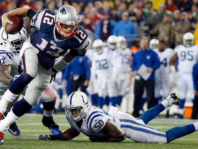 Les Colts ont mis en garde la NFL au sujet des ballons dégonflés des patriotes avant le match pour le titre de l'AFC