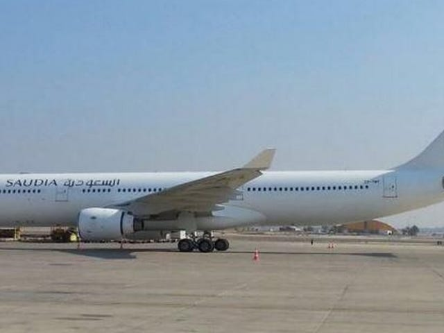 Why Exactly Is A Saudi Arabian Airliner At Tel Aviv Ben Gurion Airport?