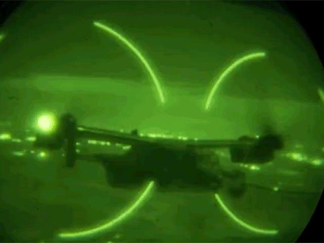 Som vi ser meget store rotorer af Osprey, er det også en vis nocturna