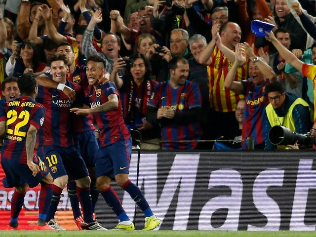 बार्सिलोना यूरोप की सर्वश्रेष्ठ टीम हैं;  अब वे इसे आधिकारिक बनाने के लिए है