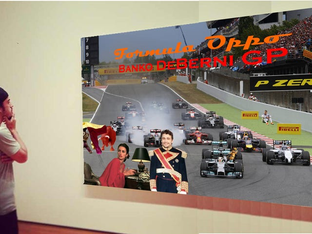Formula Oppo: The Banko DeBernie Grand Prix of Pain
