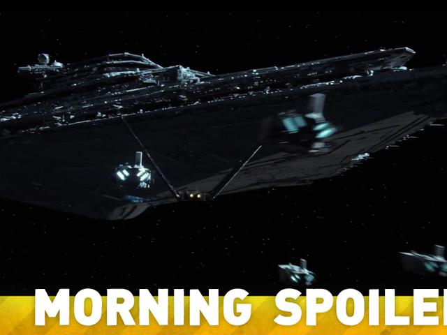 La plus étrange nouvelle rumeur de <i>Star Wars</i> concerne même pas <i>The Force Awakens</i>