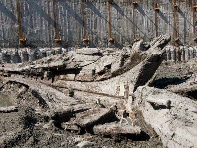 Une goélette du XIXe siècle découverte au bord de l'eau historique de Toronto