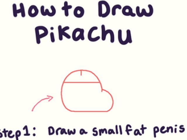 Πώς να σχεδιάσετε Pikachu