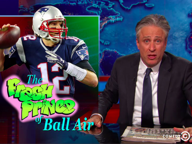 "Jon Stewart se enfrenta a Ballghazi: ""Tommy ... You Cheating Fucker"""
