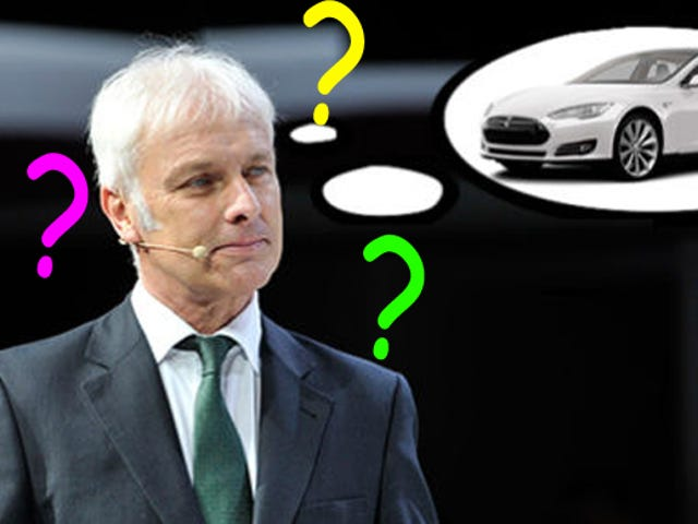CEO Porsche Mengatakan Dia Tidak Tahu Tahu Tentang Tesla