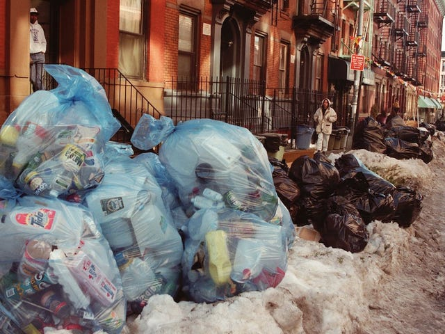 NYC Produces Twice As Much Garbage As Any Other City On Earth