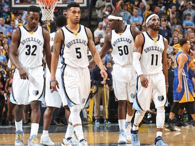 Grizzlies Take Down Warriors nella terza partita, serie Lead 2-1