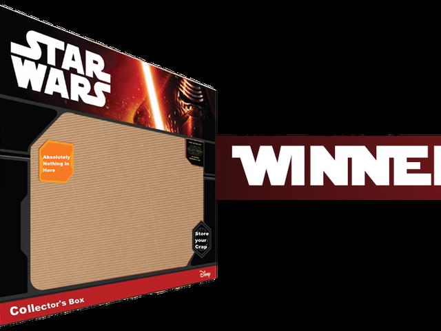 <i>Kotaku</i> &#39;Shop Contest: <i>The Force Awakens</i> Coisas: Vencedores!