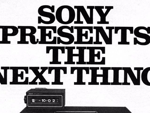 Happy Birthday To Betamax, Sony's Next Big Thing