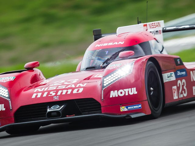 Varför är Nissans Le Mans bil framhjulsdrift?