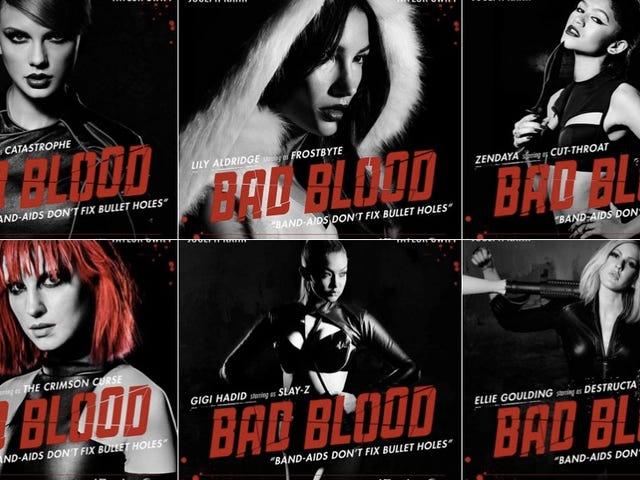 ¿De qué trata el nuevo video de 'mala sangre' de Taylor Swift?  Unas cuantas teorias