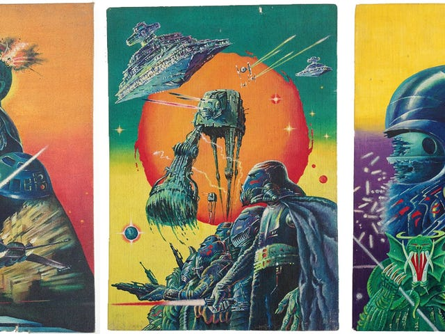 Here's Your Chance To Own This Legendarily Weird <i>Star Wars</i> Poster Art