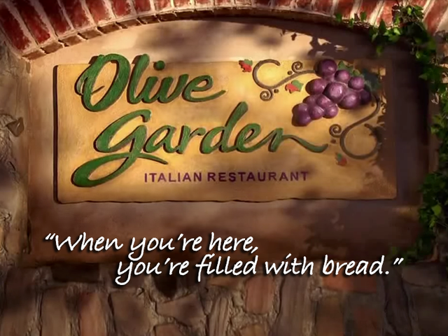 Olive Garden's Breadstick Sandwiches Come With Unlimited Breadsticks