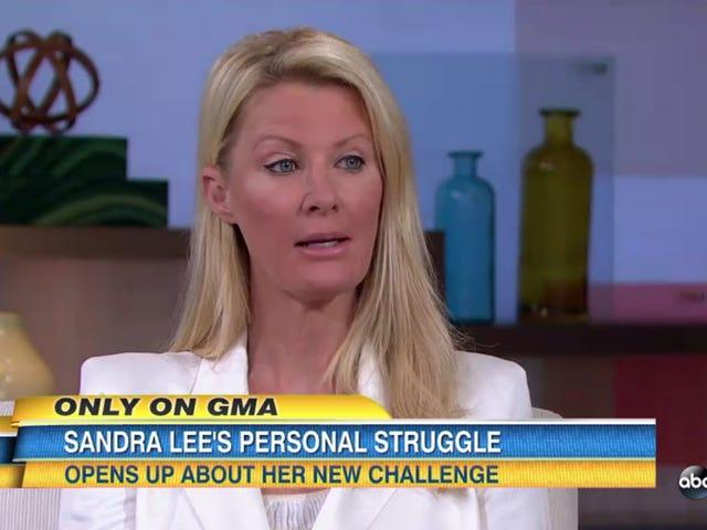 Сандра Лі виявляє діагноз раку молочної залози