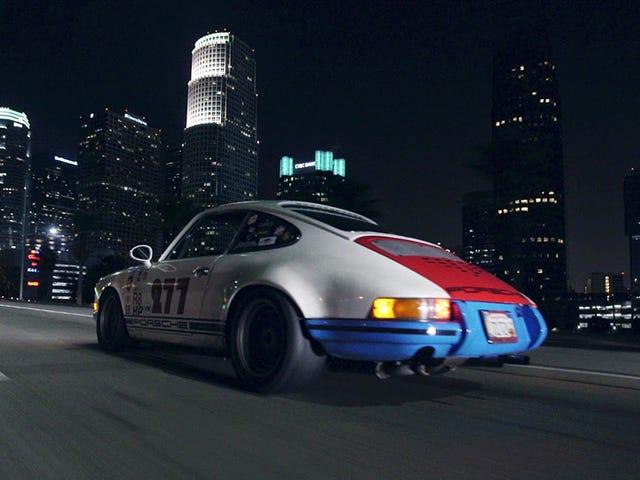 Paseemos por Los Ángeles a medianoche con Magnus Walker y un 911
