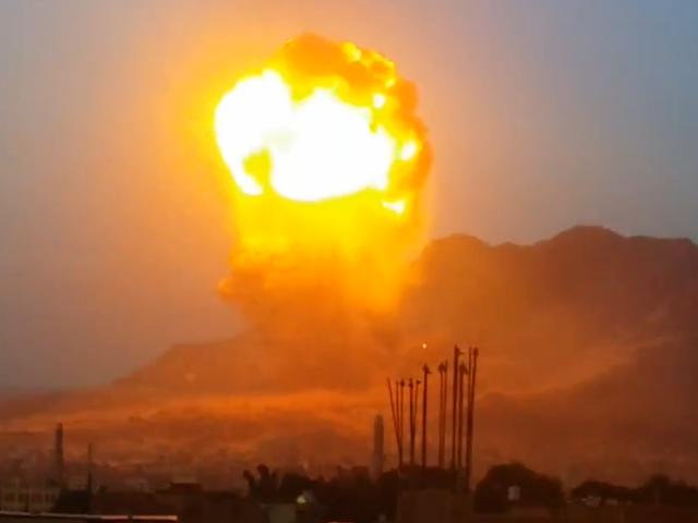 Letupan ini di Yaman kelihatan seperti Nacta Taktikal Keluar
