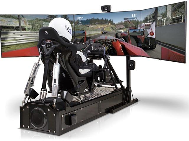Denna simulator ratt är stark nog att bryta dina handleder