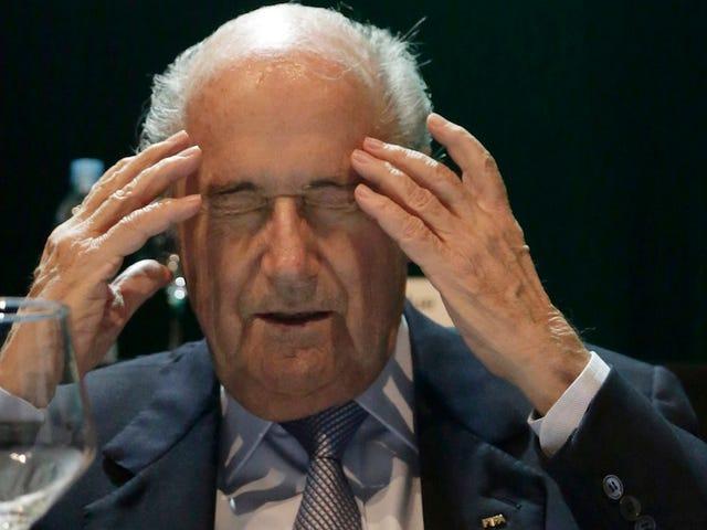 Bericht: Sepp Blatter fürchtet sich zu sehr vor dem FBI, um in die USA einzureisen