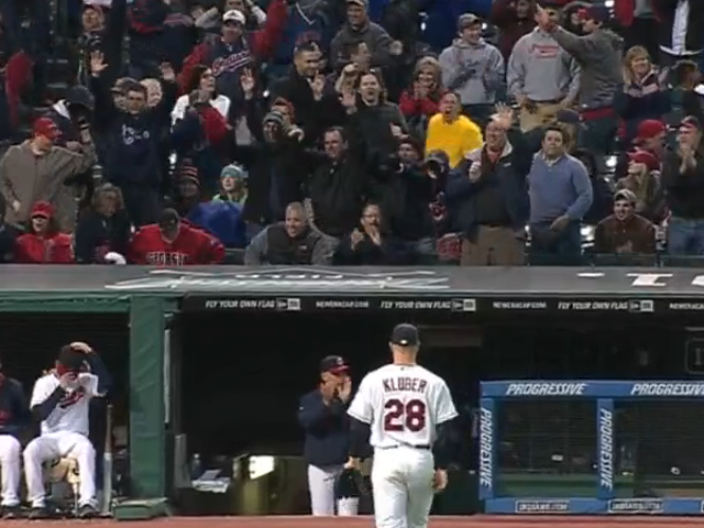 Corey Kluber Takes No-Hitter Into The 7th, Fans 18