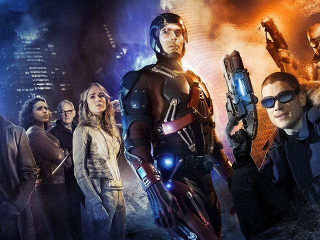 Heroes Are Revealed In The First <i>Legends Of Tomorrow</i> Cast Photo