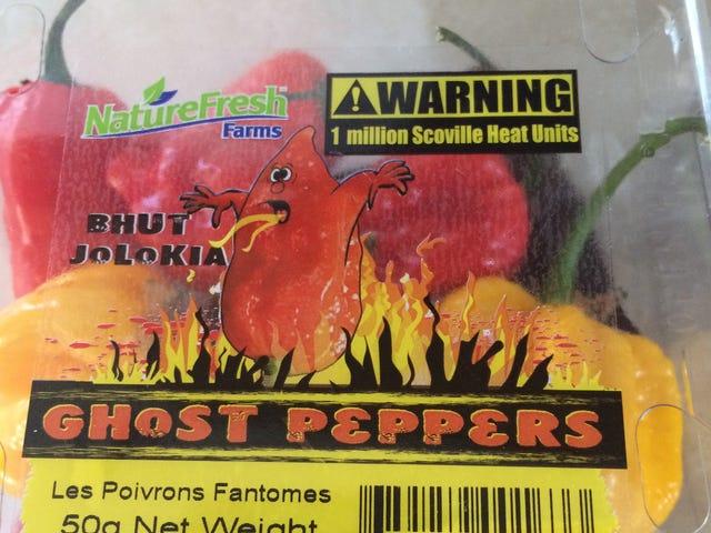 Pembaruan Makan Siang: Ghost Pepper Barbecue Sauce of Death