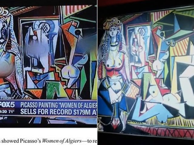 Fox Affiliate Blurs the Boobs on a Picasso Painting