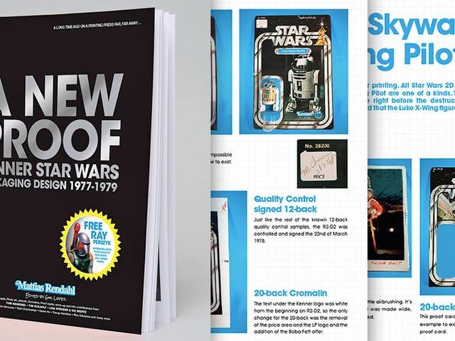 Một cuốn sách mới nhìn vào thiết kế bao bì của đồ chơi Star Wars gốc