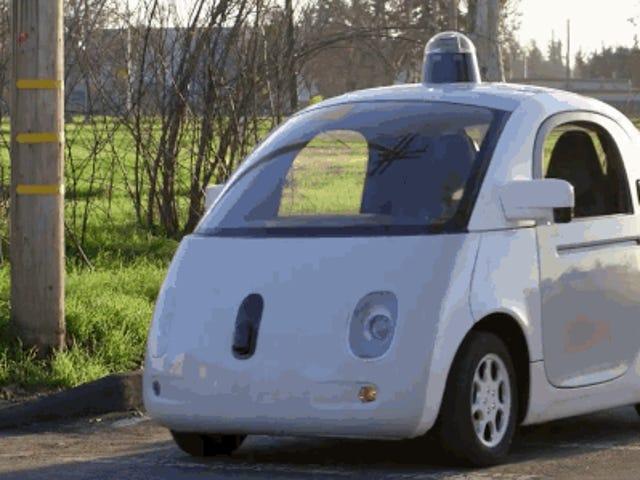 Google verhoogt de transparantie met de eerste reeks zelfrijdende auto's