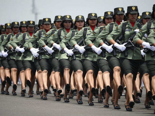 Indonesia Still Using Humiliating 'Virginity Tests' on Female Soldiers