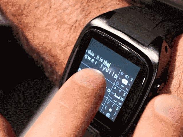 Ya, Anda Sebenarnya Dapat Mengetik Di Smartwatch