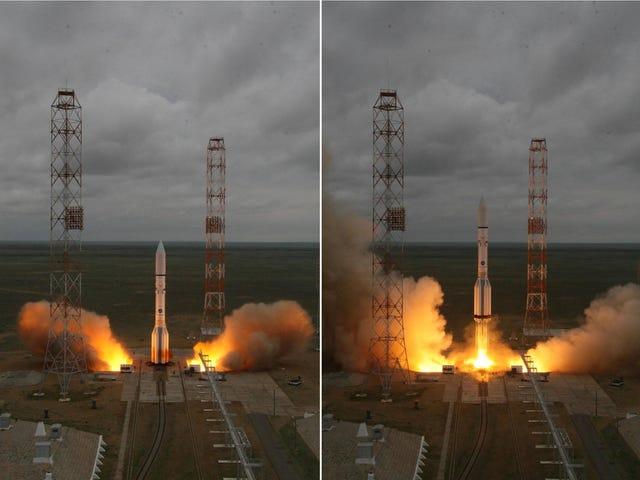 Rosyjski Rocket eksploduje, niszcząc meksykańską satelitę